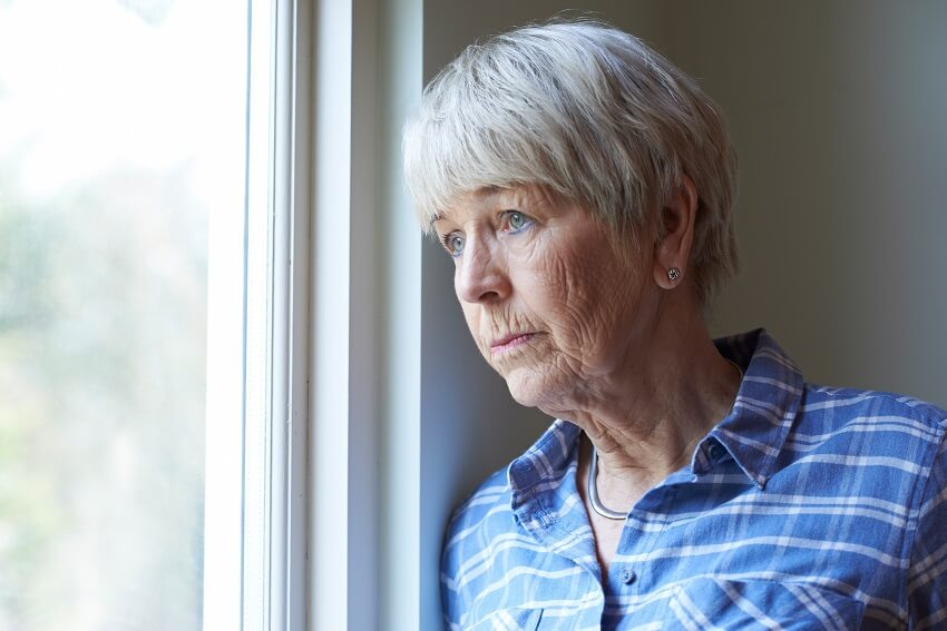 Older woman depression