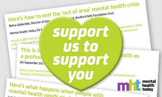 Editors' blog: Progressing mental health care and MHT together