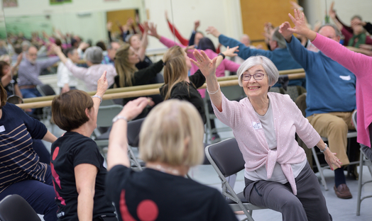 NHS trials art, dance, and music therapy for largest study of its kind