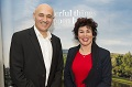 Jim Al-Khalili and Ruby Wax